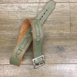 Brave Beltworks Italian leather belt 30 Small
